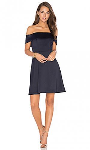 Платье body language Lumier. Цвет: синий