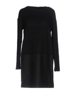 Короткое платье ALYSI. Цвет: темно-синий