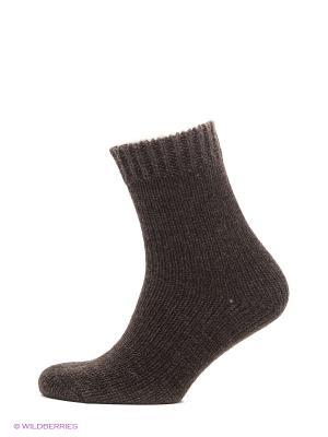 Носки из верблюжьей шерсти HOSIERY. Цвет: коричневый