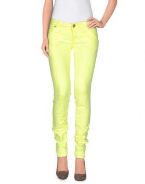 Повседневные брюки ANNARITA N.. Цвет: желтый