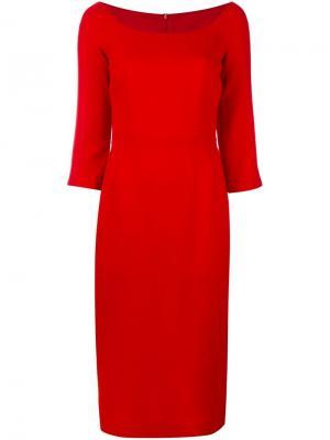 Облегающее платье Ultràchic. Цвет: красный