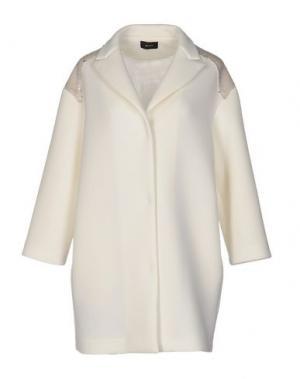 Легкое пальто MALAICA. Цвет: слоновая кость