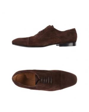Обувь на шнурках SIMONE MARIOTTI. Цвет: коричневый