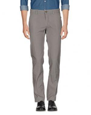 Повседневные брюки HEAVEN TWO. Цвет: серый