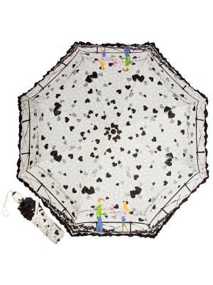 Зонт складной Bridge Beige Emme. Цвет: черный, бежевый