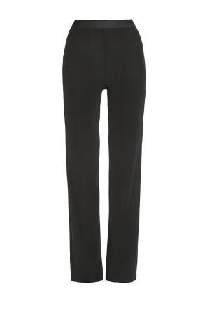 Трикотажные шерстяные брюки с шелком BK-182590 Bona Dea. Цвет: черный