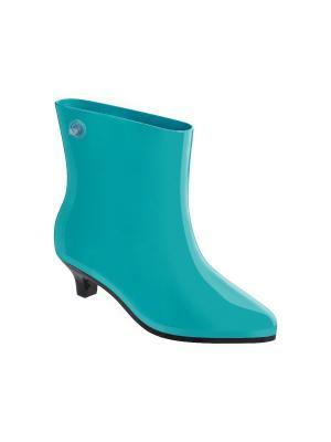 Резиновые сапоги Melissa. Цвет: голубой