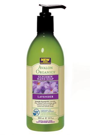 Глицериновое мыло для рук AVALON ORGANICS. Цвет: none