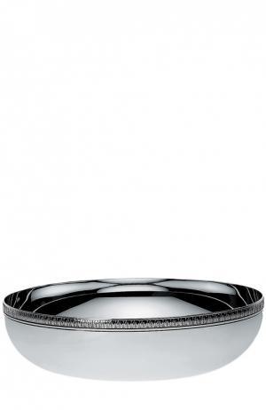 Чаша круглая Malmaison Christofle. Цвет: бесцветный