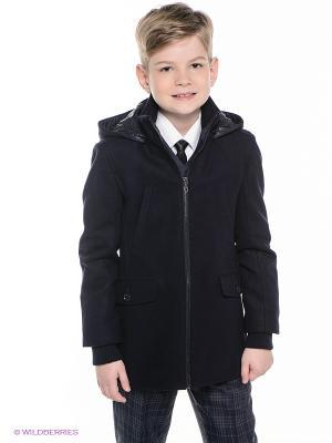 Пальто Cleverly. Цвет: темно-синий