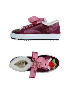 Низкие кеды и кроссовки JOYKS. Цвет: пурпурный