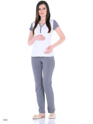 Комплект для беременных и кормящих FEST. Цвет: темно-серый, белый, розовый