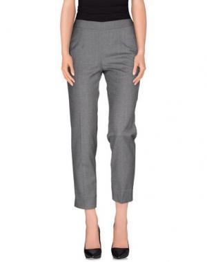 Повседневные брюки BLOCKINDUSTRIE. Цвет: серый