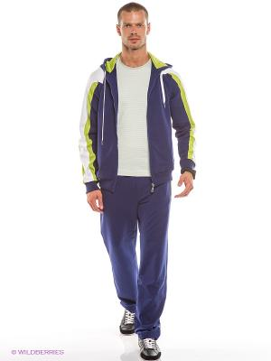 Спортивный костюм RED-N-ROCK'S. Цвет: синий