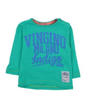 Футболка VINGINO. Цвет: зеленый