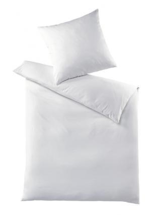 Постельное белье Heine Home. Цвет: белый, сливовый