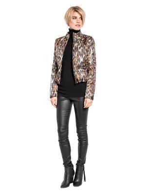 Куртка APART. Цвет: коричневый, черный, серый