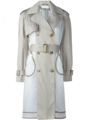 Пальто  Wanda Nylon. Цвет: зелёный