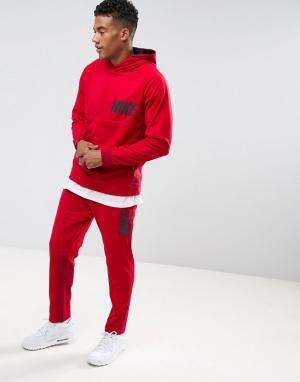 Nike Красный спортивный костюм Advanced 15 861766-608. Цвет: красный