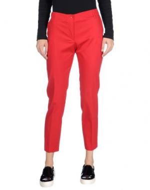 Повседневные брюки MARCELLO SANGIORGI. Цвет: красный