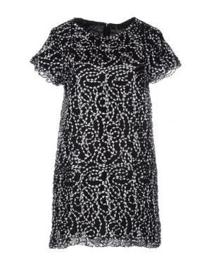 Короткое платье NINEMINUTES. Цвет: белый