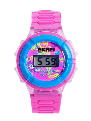 Часы SKMEI. Цвет: голубой, розовый