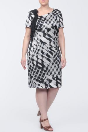 Платье Krizia. Цвет: принт, черный, молочный