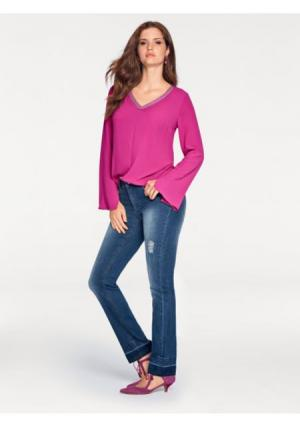 Моделирующие джинсы ASHLEY BROOKE by Heine. Цвет: аква