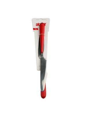 Ножи столовые, Premier, красный, 2 шт в упаковке MOULINvilla. Цвет: красный