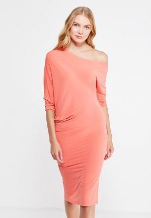 Платье Levall. Цвет: коралловый