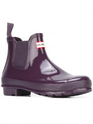 Ботинки Челси Hunter. Цвет: розовый и фиолетовый