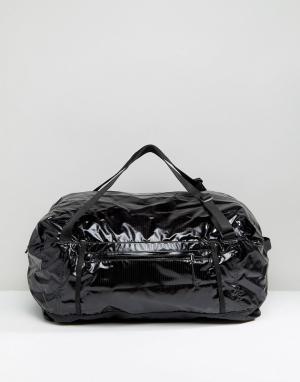 Patagonia Черная легкая сумка Black Hole 45L. Цвет: черный