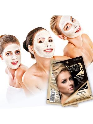 Комплексный уход за кожей - отшелушивающая грязевая маска Naomi Dead Sea Cosmetics. Цвет: черный