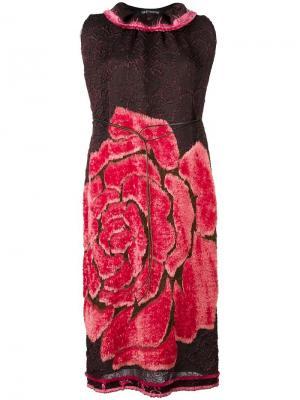 Платье с рисунком Rose Ter Et Bantine. Цвет: коричневый