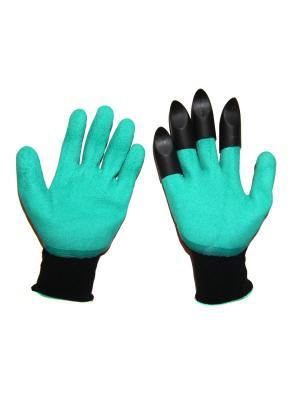 Перчатки садовые DiMi. Цвет: зеленый