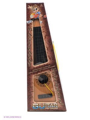 Игрушка Гитара VELD-CO. Цвет: коричневый