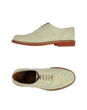 Обувь на шнурках SETTANTATRE LR. Цвет: светло-желтый