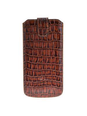 Чехол мешок iPhone 6 plus, 7 Plus Bouletta. Цвет: коричневый