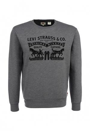 Свитшот Levis® Levi's®. Цвет: серый
