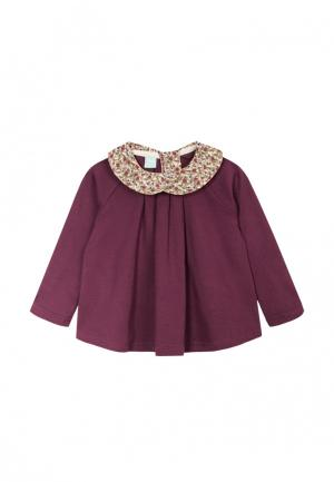 Блуза AnyKids. Цвет: бордовый