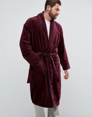 Ted Baker Бордовый халат. Цвет: красный