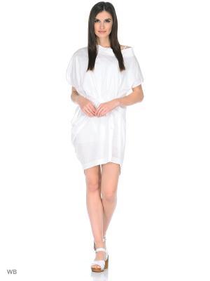 Платье Manila Grace М03076белый