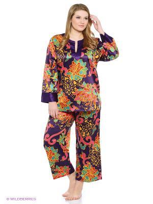 Пижама Natori. Цвет: фиолетовый, розовый