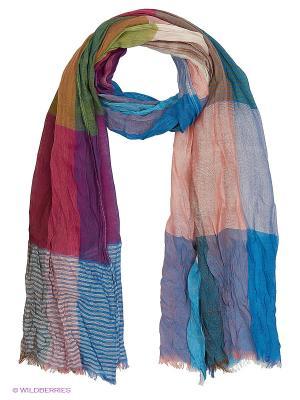 Палантин Vita pelle. Цвет: малиновый, бежевый, голубой
