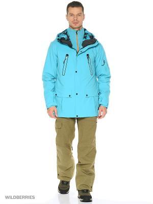 Куртка O'Neill. Цвет: голубой