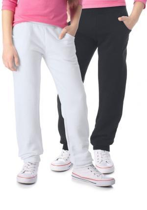 Трикотажные брюки, CFL (2 шт.) Otto. Цвет: комплект расцветок
