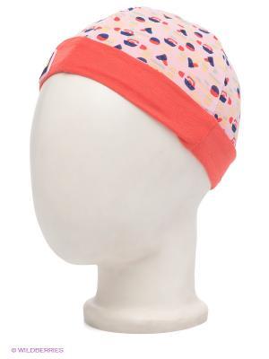 Шапка Noppies. Цвет: коралловый, бледно-розовый