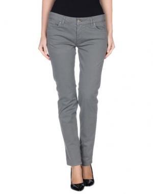 Повседневные брюки KITTE. Цвет: серый