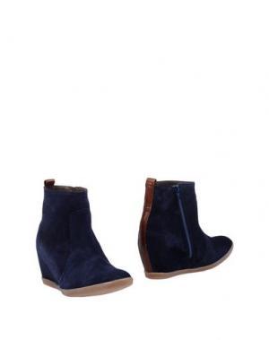 Полусапоги и высокие ботинки EYE. Цвет: синий