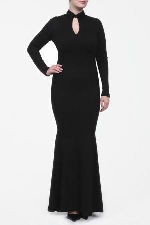 Платье Marc Cain. Цвет: черный